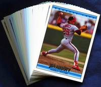 1992 Donruss California Angels Baseball Cards Team Set