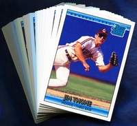 1992 Donruss Cleveland Indians Baseball Cards Team Set