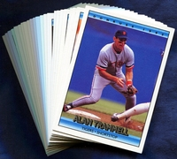 1992 Donruss Detroit Tigers Baseball Cards Team Set