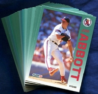 1992 Fleer Anaheim (California) Angels Baseball Card Team Set
