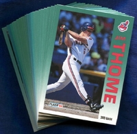 1992 Fleer Cleveland Indians Baseball Card Team Set