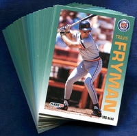 1992 Fleer Detroit Tigers Baseball Card Team Set