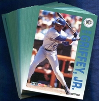 1992 Fleer Seattle Mariners Baseball Card Team Set