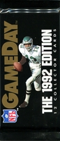 1992 GameDay NFL Football Cards Pack