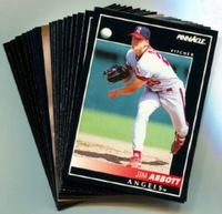 1992 Pinnacle Anaheim (California) Angels Baseball Card Team Set