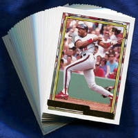 1992 Topps Gold Anaheim (California) Angels Baseball Card Team Set