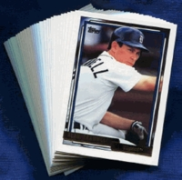 1992 Topps Gold Detroit Tigers Baseball Card Team Set