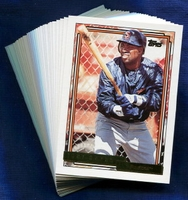 1992 Topps Gold San Diego Padres Baseball Card Team Set