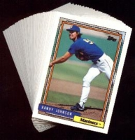 1992 Topps Seattle Mariners Baseball Card Team Set