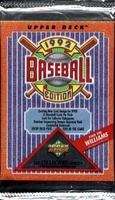 1992 Upper Deck Low Series Baseball Cards Pack