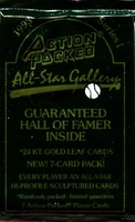 1993 Action Packed All Star Gallery Series 1 Baseball Cards Pack