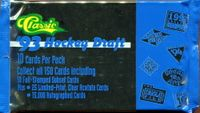 1993 Classic Draft Hockey Cards Pack