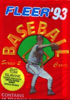 1993 Fleer Series 2 Baseball Cards Pack