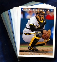 1993 Upper Deck Pittsburgh Pirates Baseball Cards Team Set