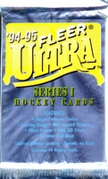 1994-95 Fleer Ultra Series 1 NHL Hockey Card Pack