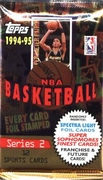 1994-95 Topps Series 2 NBA Basketball Card Pack