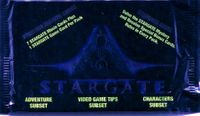 1994 Collect-A-Card Stargate Non-Sports Card Pack