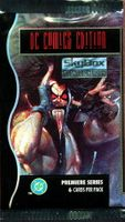 1994 Skybox DC Comics Master Series Non-Sports Card Pack