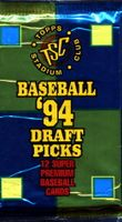 1994 Topps Stadium Club Draft Picks Baseball Cards Pack