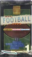 1994 Topps Stadium Club Series 1 NFL Football Card Pack