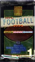 1994 Topps Stadium Club Series 1 NFL Football Cards Pack