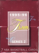 1995-96 Flair Series 2 NBA Basketball Card Pack