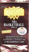1995-96 Fleer Ultra Series 2 NBA Basketball Card Pack