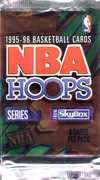 1995-96 NBA Hoops Series 2 Basketball Card Pack
