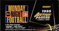 1995 Action Packed Monday Night Football Card Hobby Box
