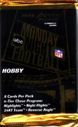 1995 Action Packed Monday Night Football Card Hobby Pack
