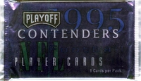 1995 Playoff Contenders Football Card Pack