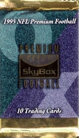 1995 Skybox Premium Football Card Pack