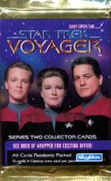 1995 SkyBox Voyager Series 2 Non-Sports Card Pack