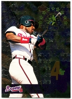 1995 Topps Opening Day #6 Fred McGriff Baseball Card