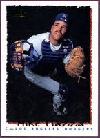 1995 Topps Pre-Production Mike Piazza Baseball Card