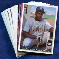 1995 Upper Deck Collector's Choice San Diego Padres Baseball Card Team Set