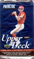 1995 Upper Deck Football Card Pack