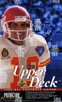1995 Upper Deck Retail NFL Football Card Box