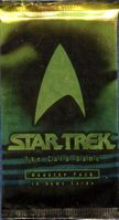 1996 Fleer SkyBox Star Trek The Card Game Booster Pack Non-Sports Cards