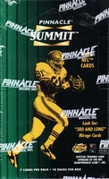 1996 Pinnacle Summit NFL Football Card Box