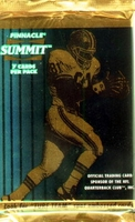 1996 Pinnacle Summit NFL Football Card Pack