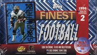 1996 Topps Finest Series 2 NFL Football Card Box