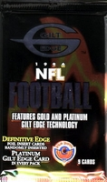 1996 Topps Gilt Edge Football Card Pack