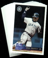 1996 Topps Seattle Mariners Baseball Card Team Set