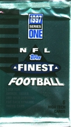 1997 Finest Series 1 NFL Football Cards Pack