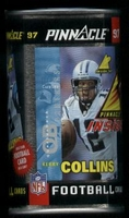 1997 Pinnacle Inside Football Cards In Can Pack