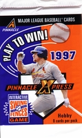 1997 Pinnacle X-Press Baseball Card Pack