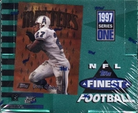 1997 Topps Finest Series 1 Football Card Box