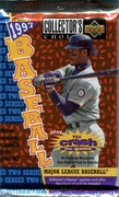 1997 Upper Deck Collectors Choice Series 2 Baseball Cards Pack