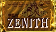 1997 Zenith NFL Football Cards Pack